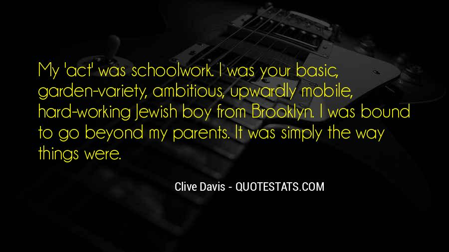Quotes About Working Parents #1416571