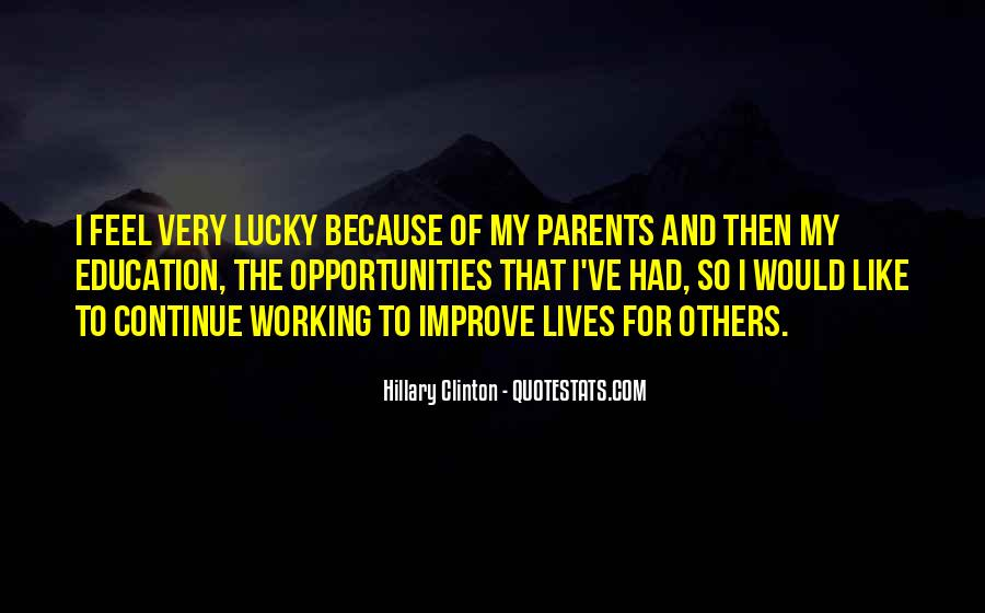 Quotes About Working Parents #167511