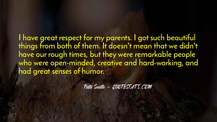 Quotes About Working Parents #647513