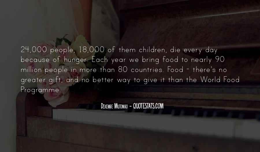 Quotes About World Food Day #1152783
