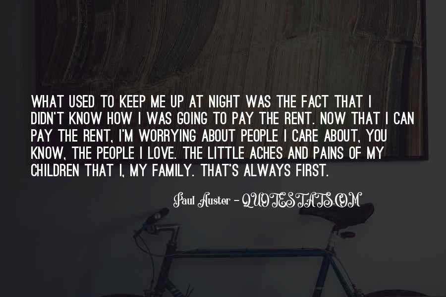 Quotes About Worrying About The One You Love #982359