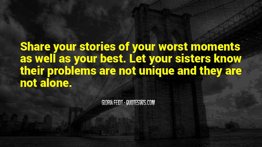 Quotes About Worst Moments #1003415
