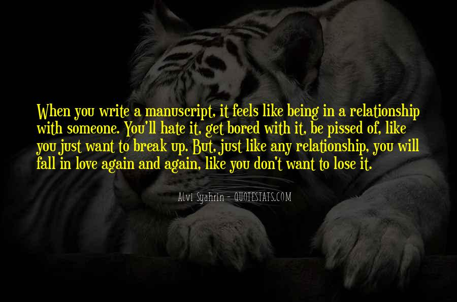 Quotes About Writing Advice #169820