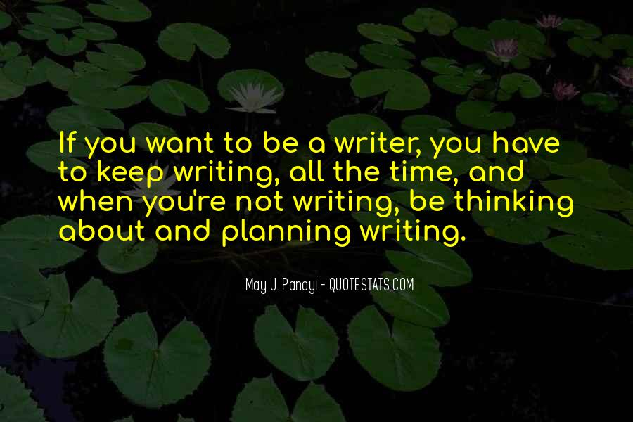 Quotes About Writing Advice #187078