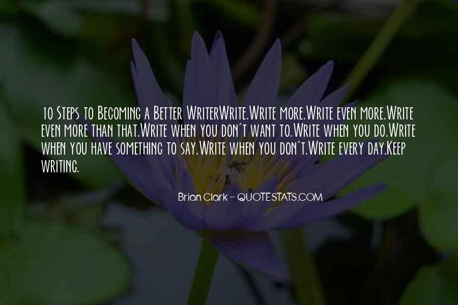Quotes About Writing Advice #217125