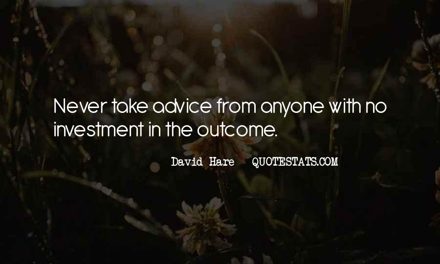 Quotes About Writing Advice #223329