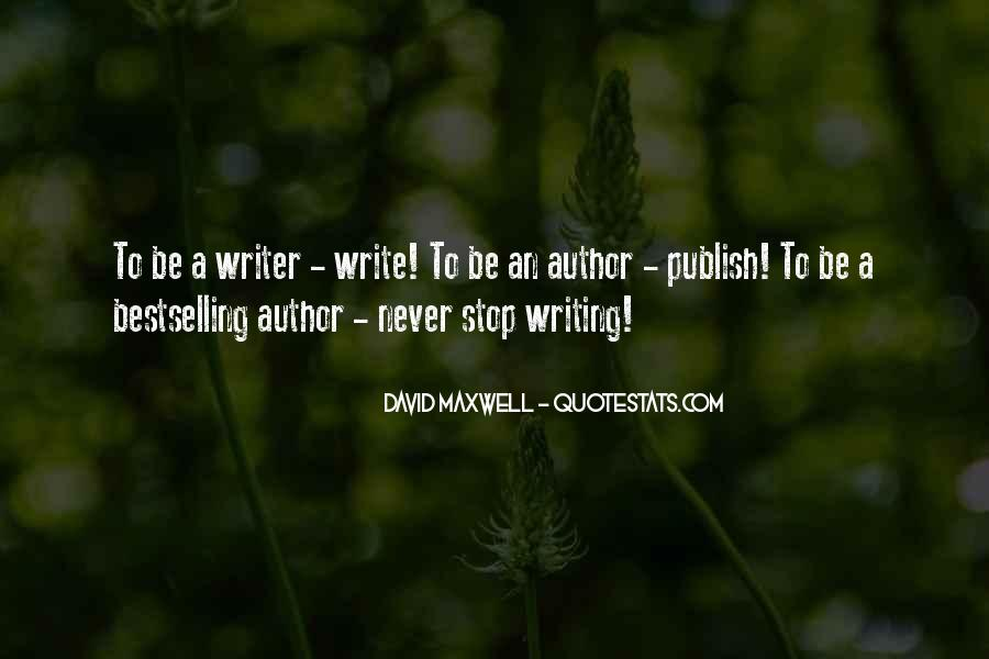 Quotes About Writing Advice #254677
