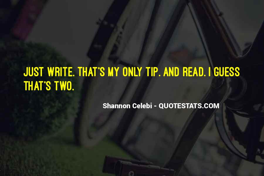 Quotes About Writing Advice #307994