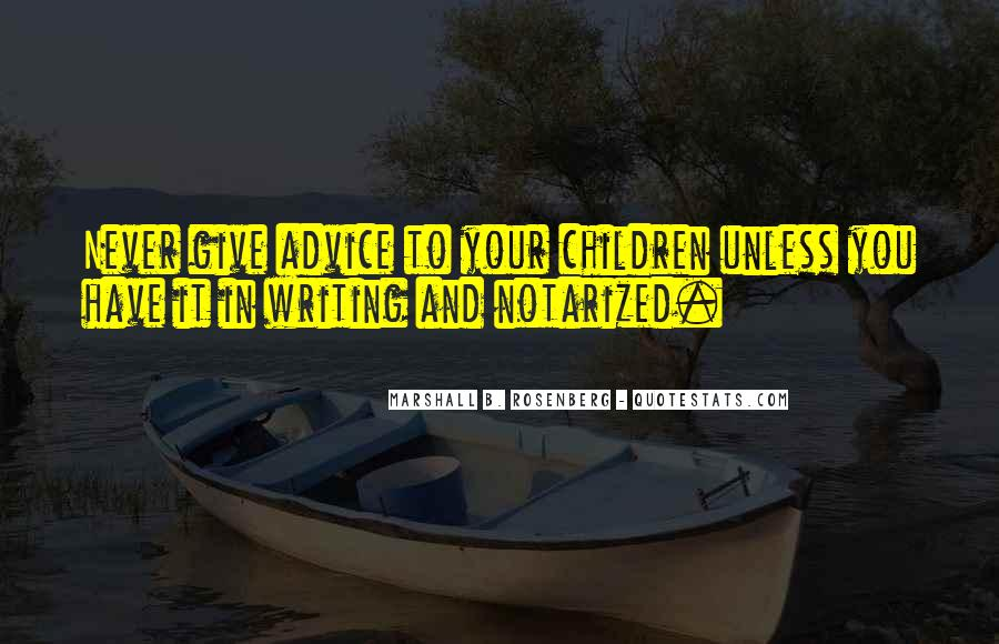 Quotes About Writing Advice #31858
