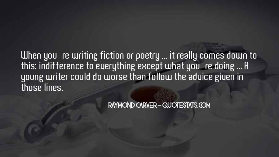 Quotes About Writing Advice #323853