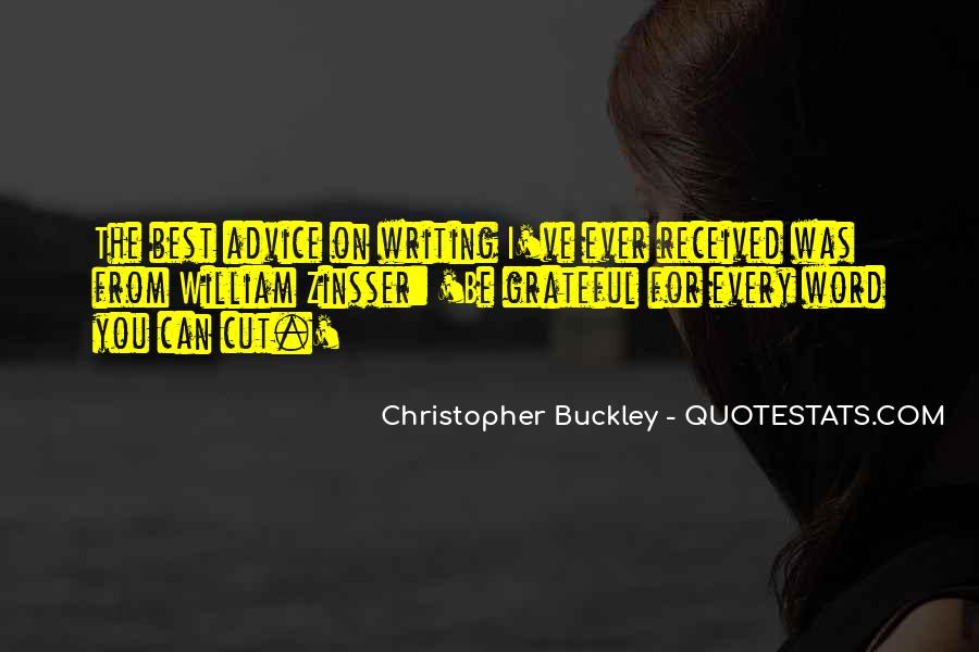 Quotes About Writing Advice #3678