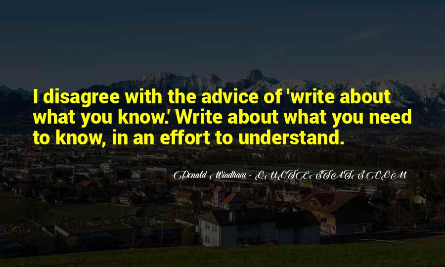 Quotes About Writing Advice #80482