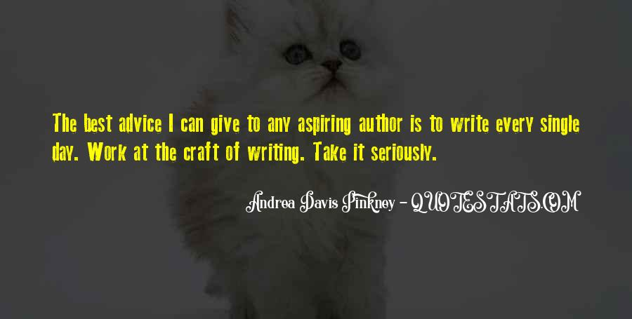 Quotes About Writing Advice #94612