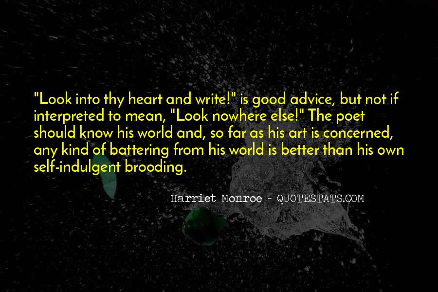 Quotes About Writing Advice #95856