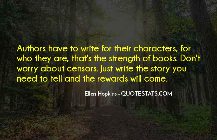 Quotes About Writing By Authors #128578