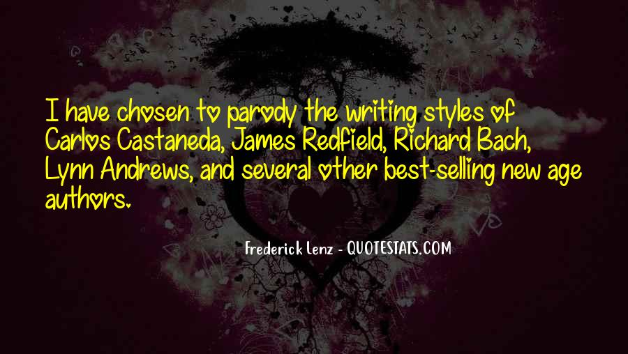 Quotes About Writing By Authors #16322