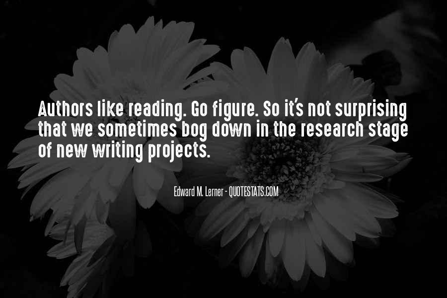 Quotes About Writing By Authors #188111