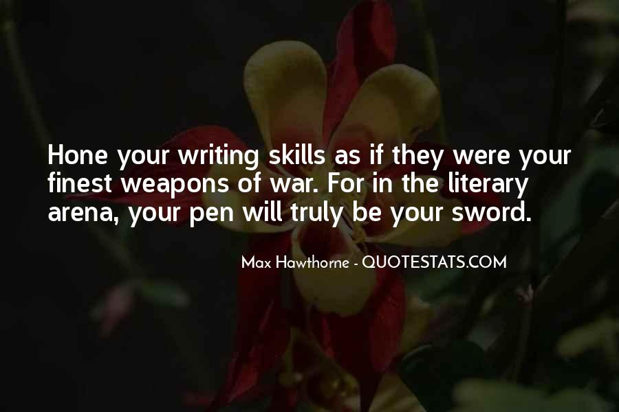 Quotes About Writing By Authors #269187