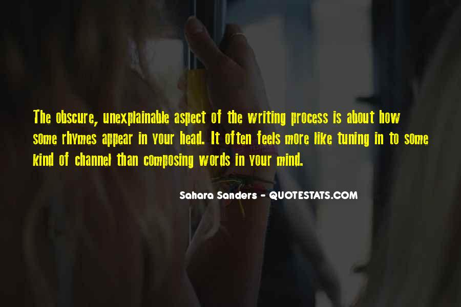 Quotes About Writing By Authors #314132