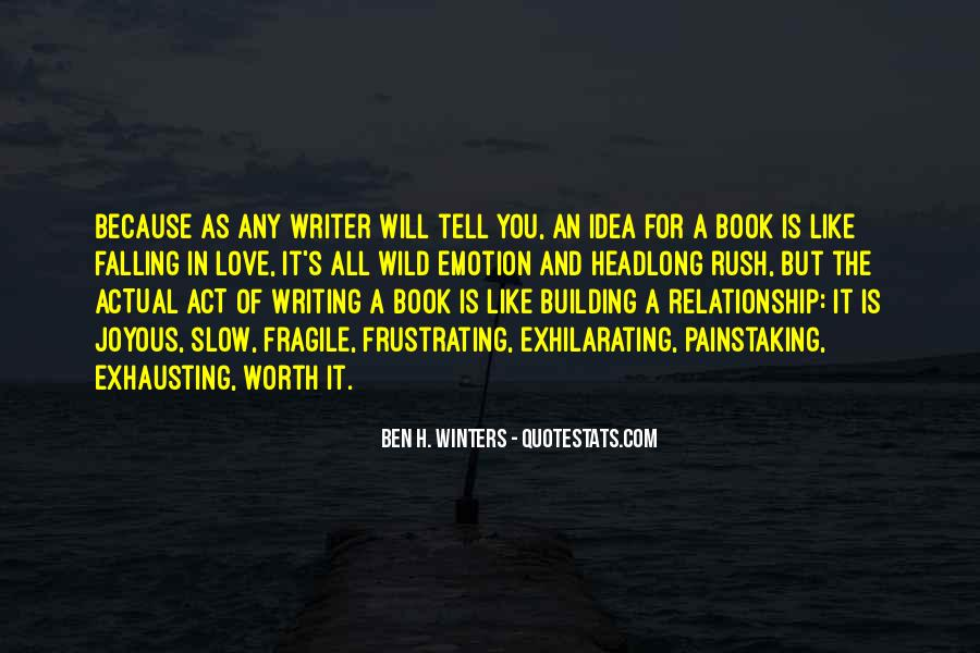 Quotes About Writing By Authors #42864