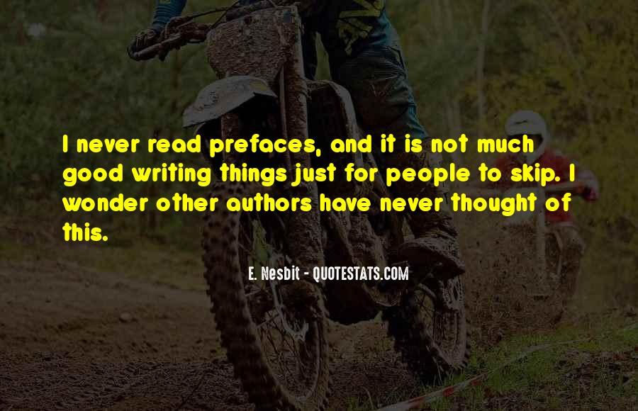 Quotes About Writing By Authors #60762