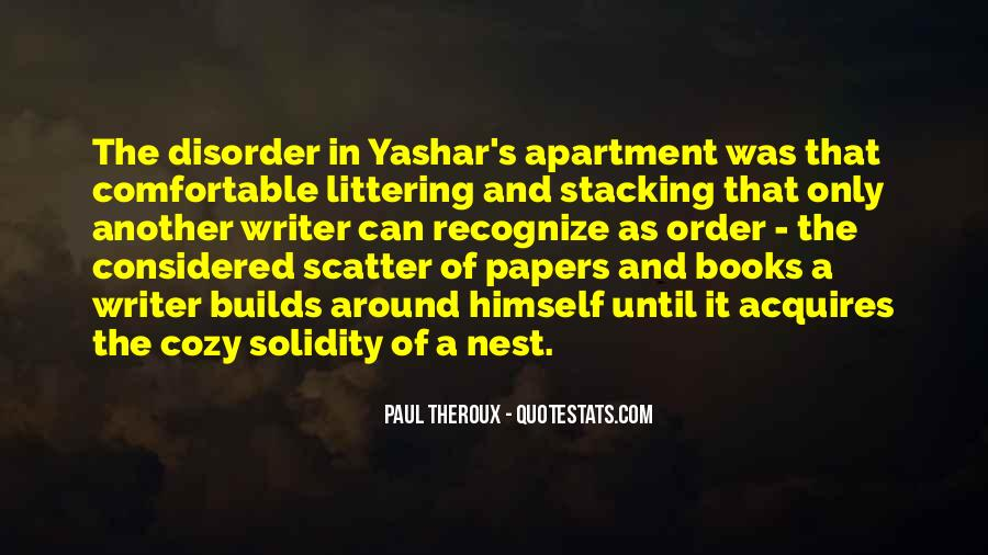 Quotes About Yashar #1208574