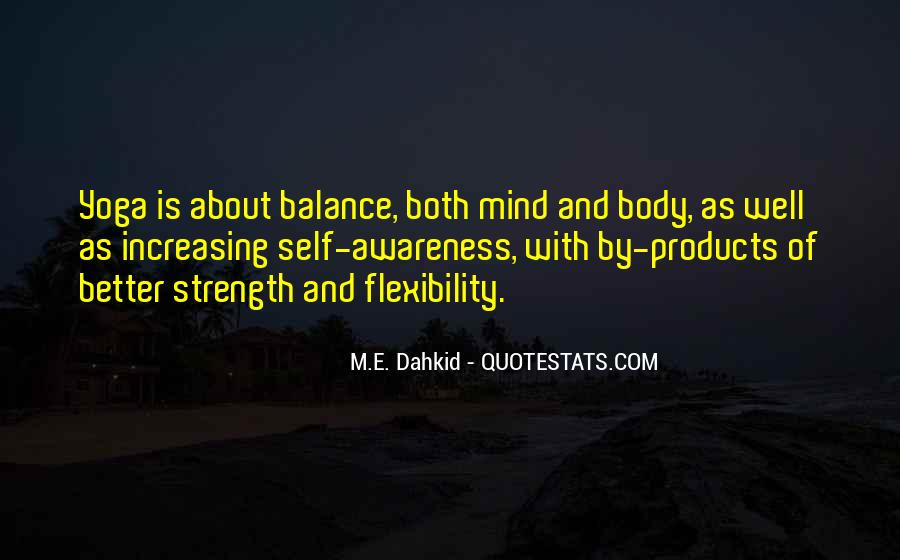 Quotes About Yoga Flexibility #1709