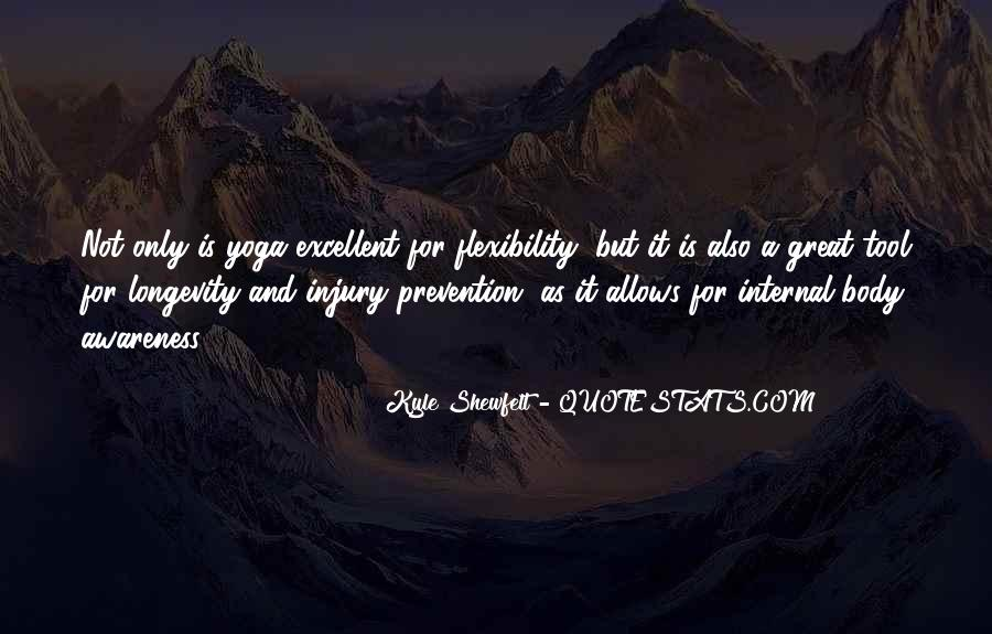 Quotes About Yoga Flexibility #1792954