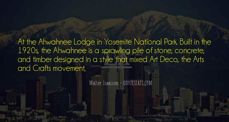 Quotes About Yosemite Park #772235