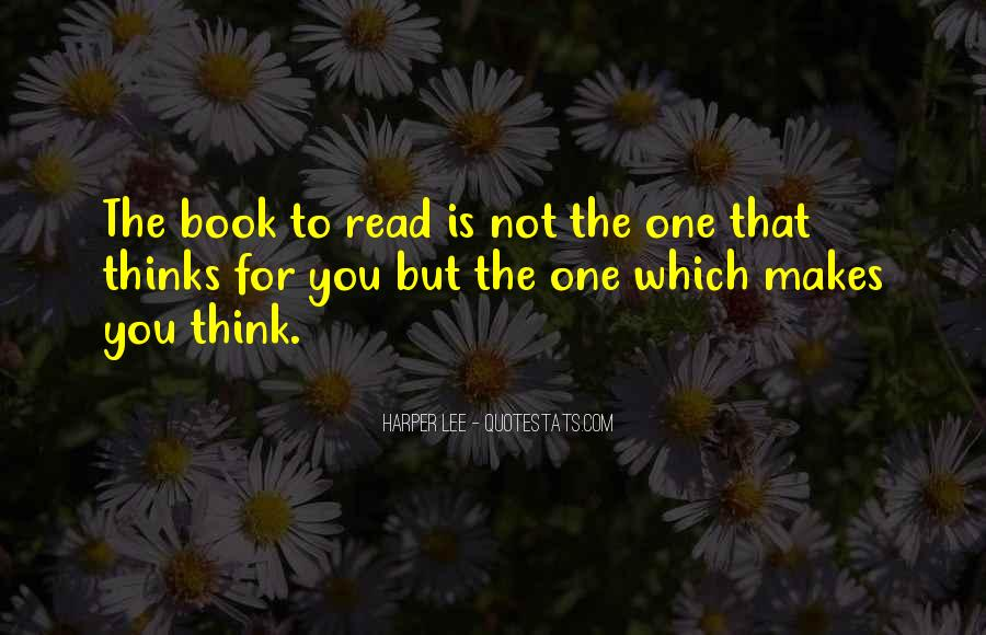 Quotes About Reading Harper Lee #1429219