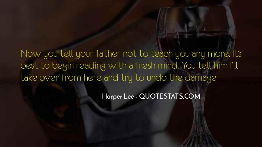 Quotes About Reading Harper Lee #588277
