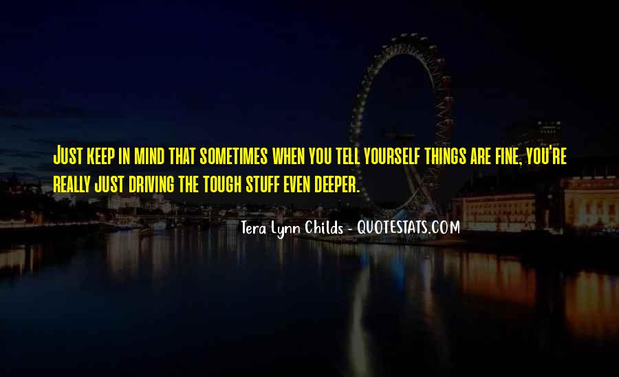 Quotes About You In My Mind #151831