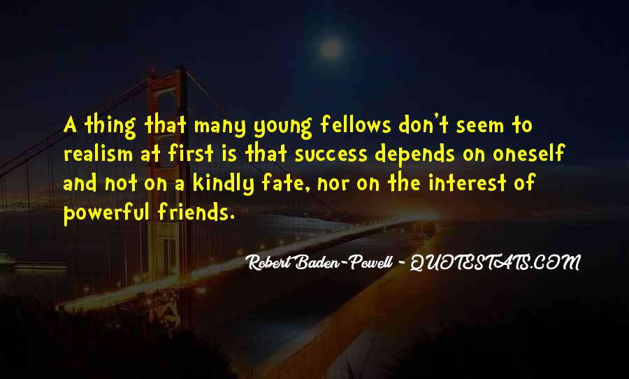 Quotes About Young Friendship #1242601