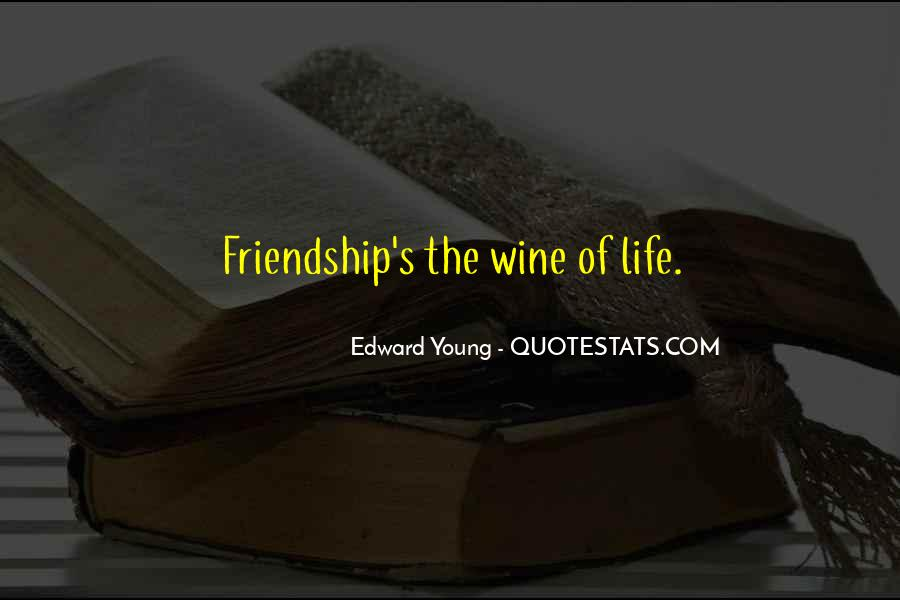Quotes About Young Friendship #1578139