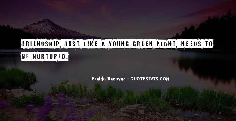 Quotes About Young Friendship #1641862