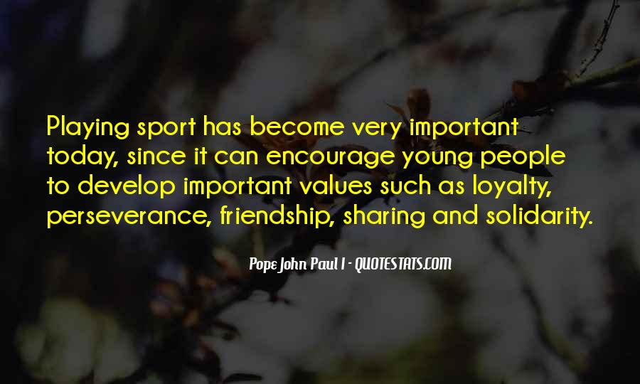 Quotes About Young Friendship #1837097