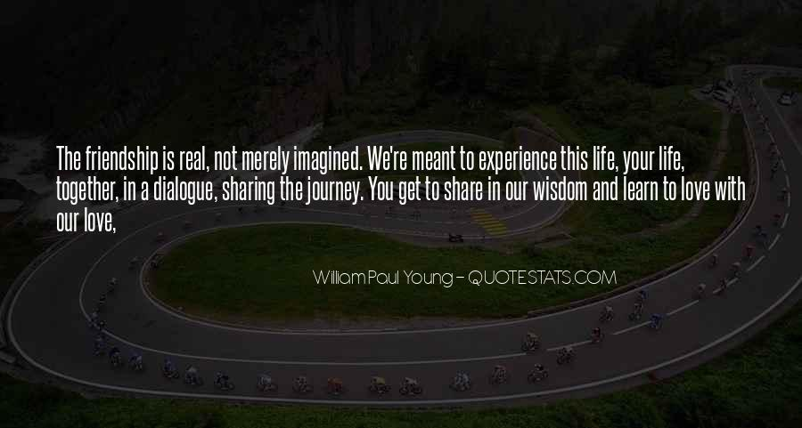 Quotes About Young Friendship #473034