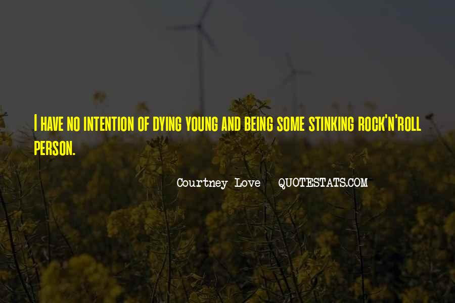 Quotes About Young Person Dying #506014