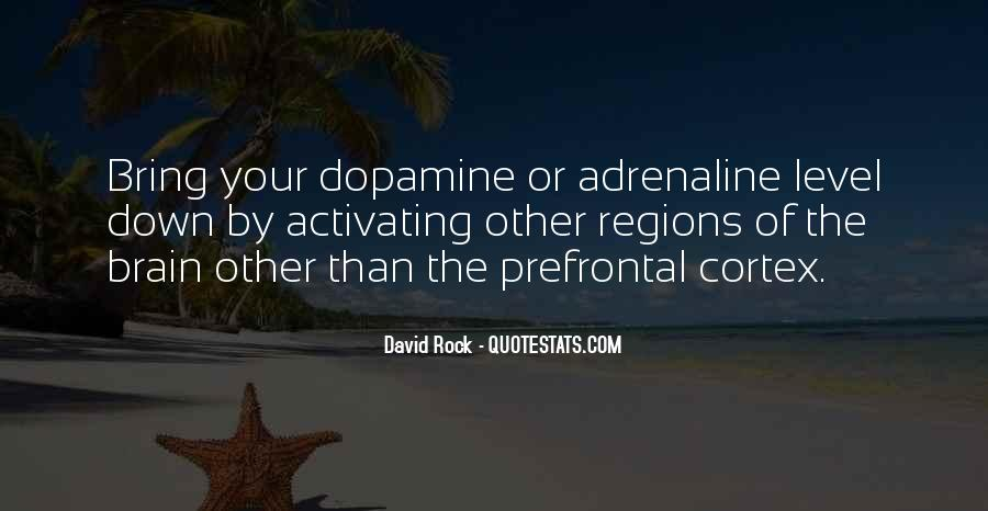 Quotes About Dopamine #1152808