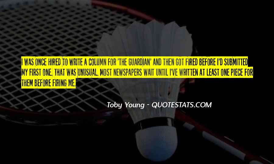 Quotes About Your Only Young Once #183316