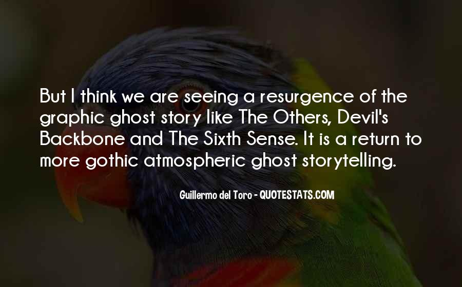 Quotes About Your Sixth Sense #208838
