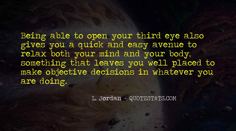 Quotes About Your Third Eye #1356048