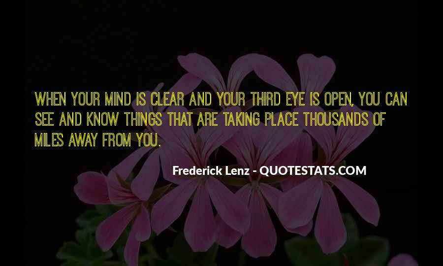 Quotes About Your Third Eye #769174