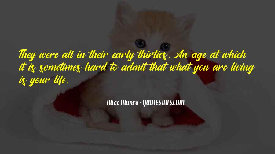 Quotes About Your Thirties #155595