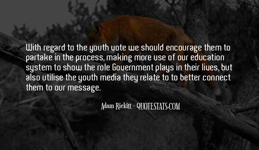 Quotes About Youth And Media #1312531
