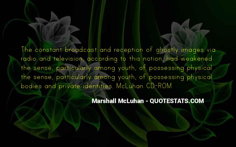 Quotes About Youth And Media #1737550