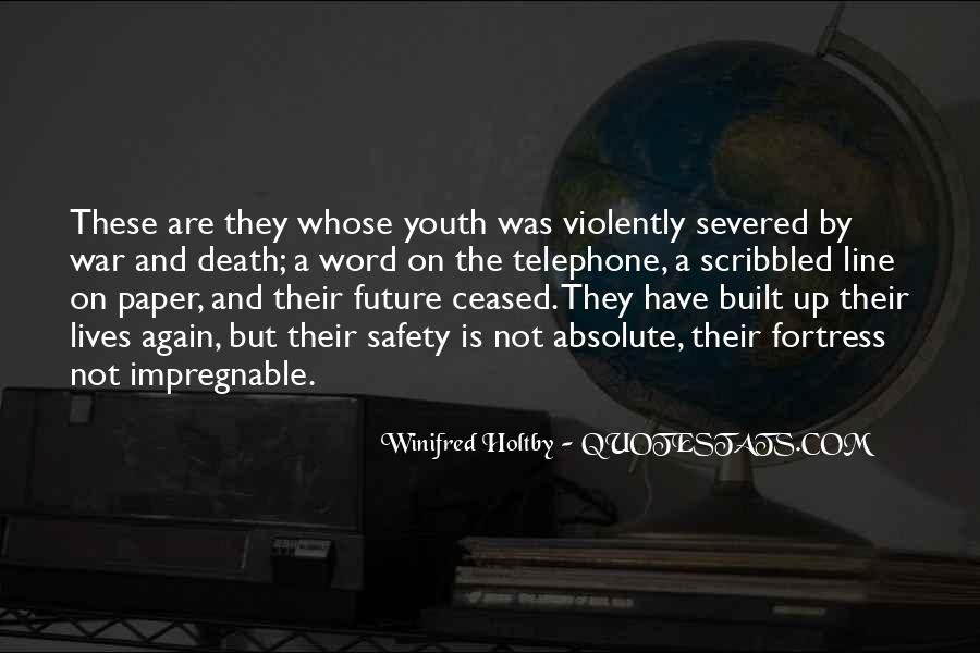 Quotes About Youth And The Future #107792