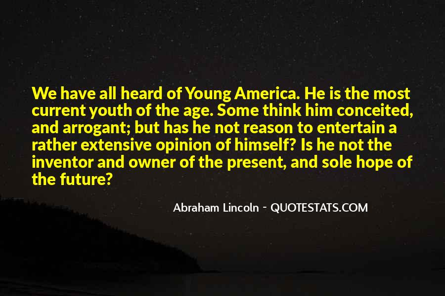 Quotes About Youth And The Future #1353195