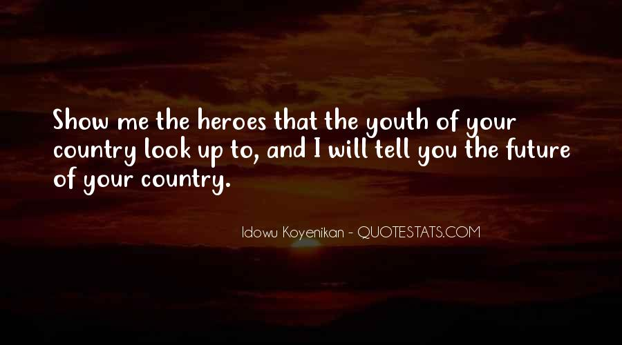 Quotes About Youth And The Future #1802890