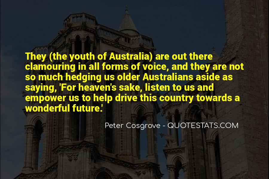Quotes About Youth And The Future #1829905